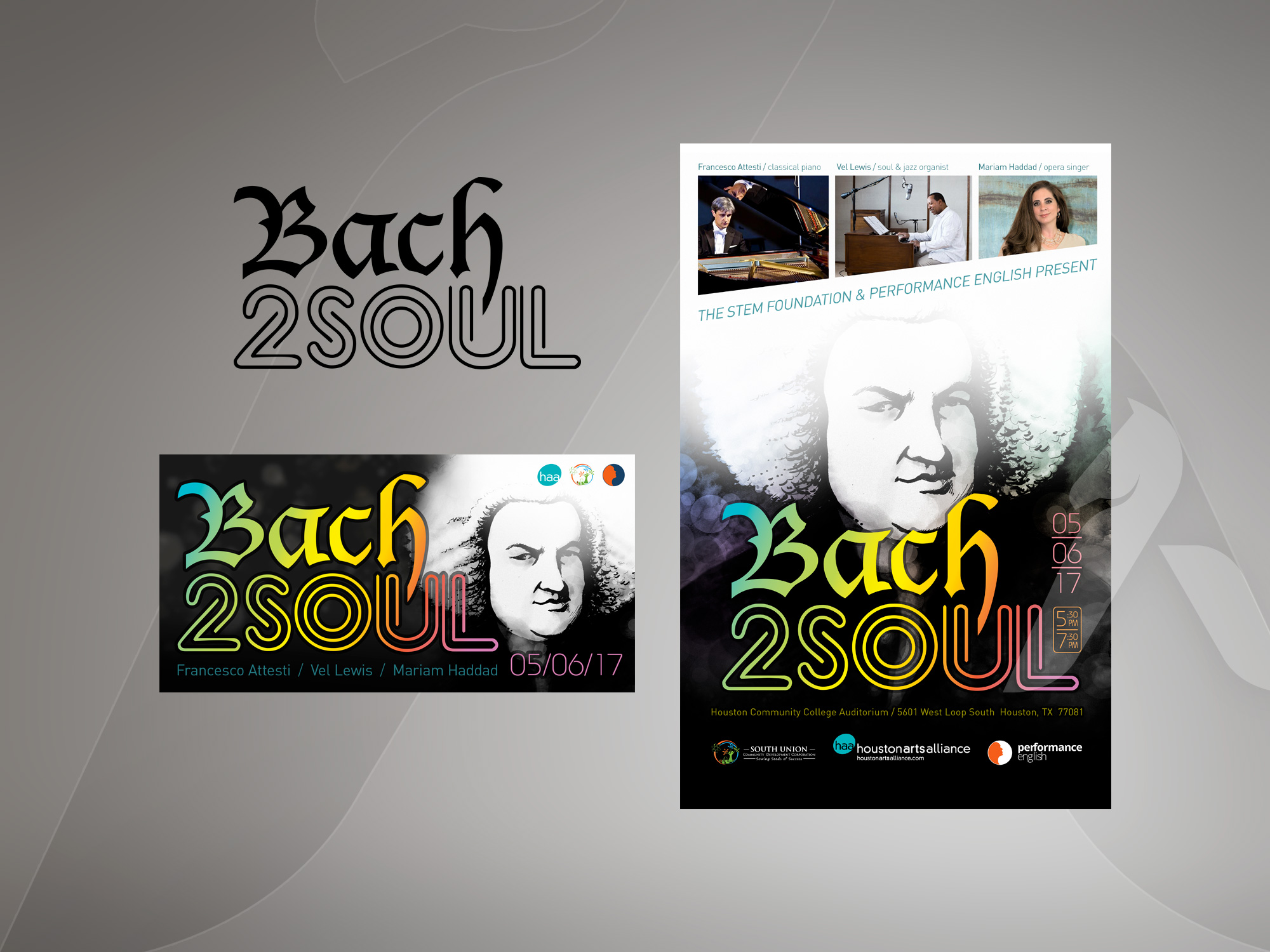 Bach2Soul design & illustration by Hakubashi