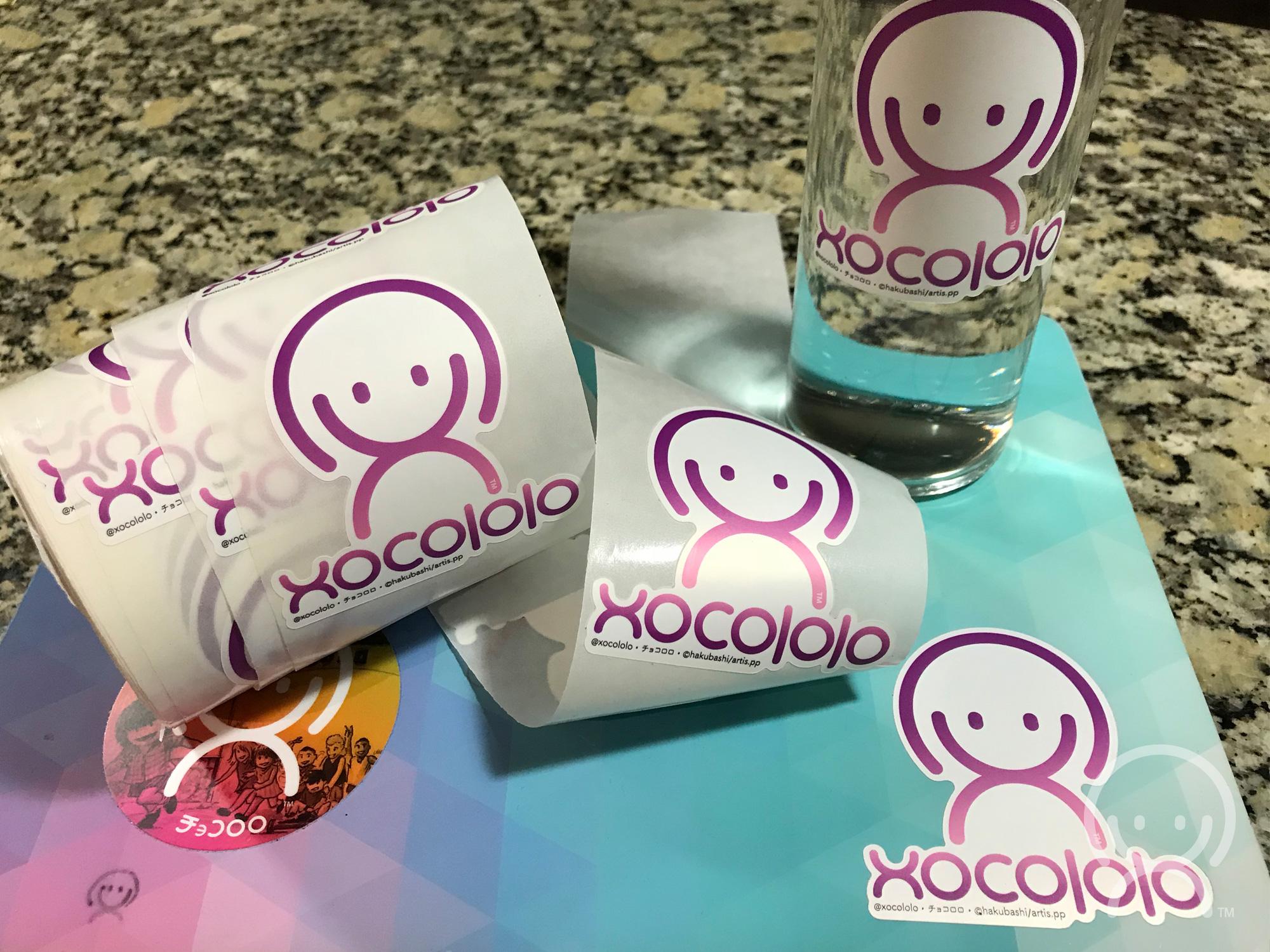 Xocololo stickers