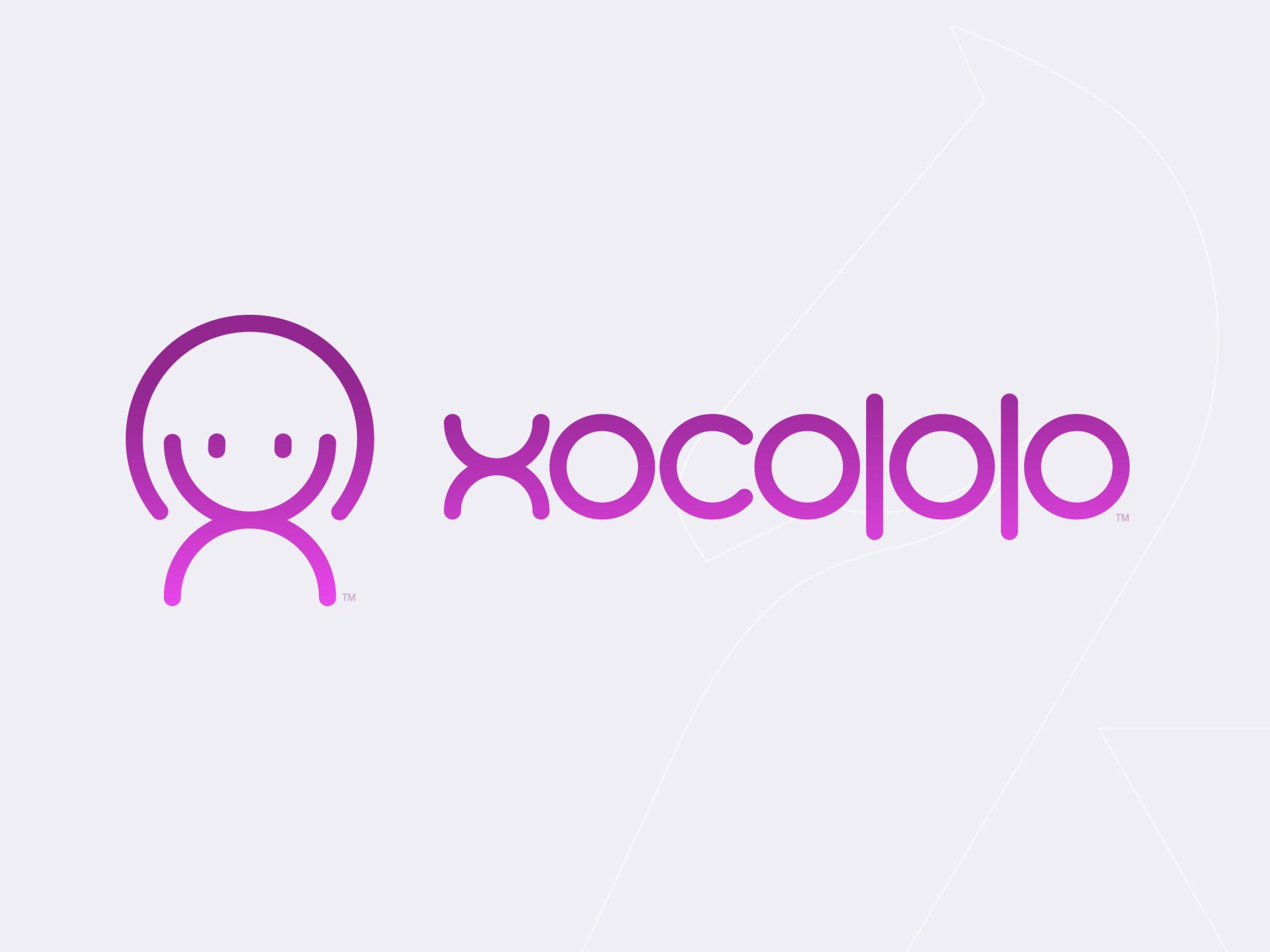 Xocololo logo design by Hakubashi