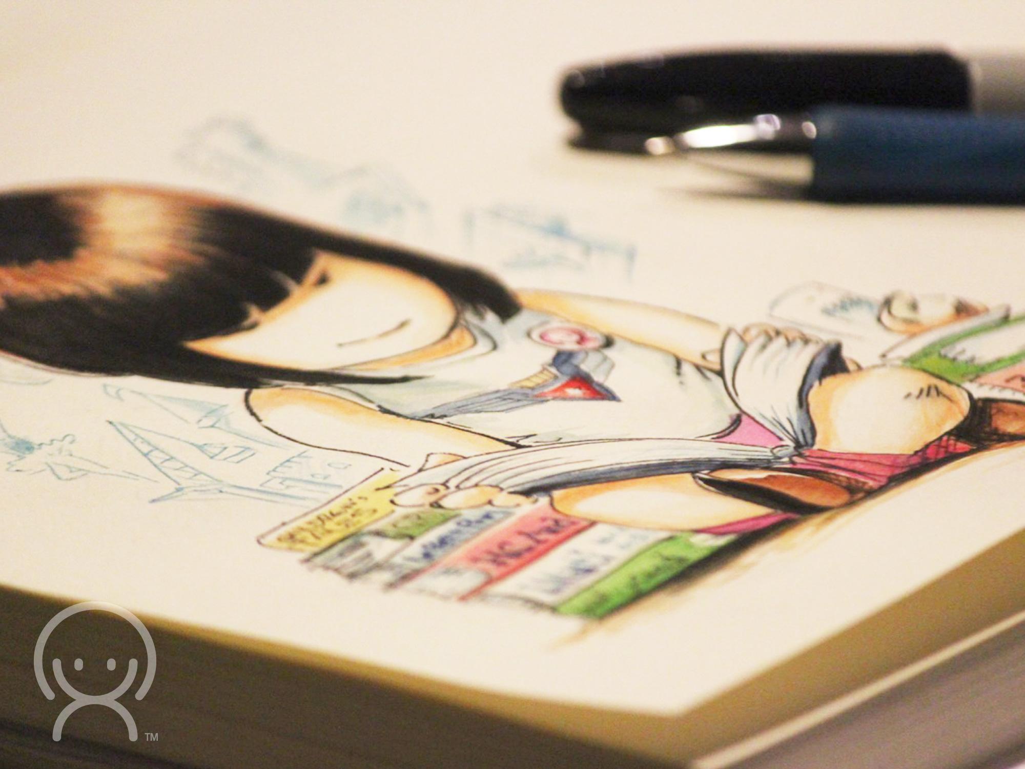 Xocololo illustration by Hakubashi
