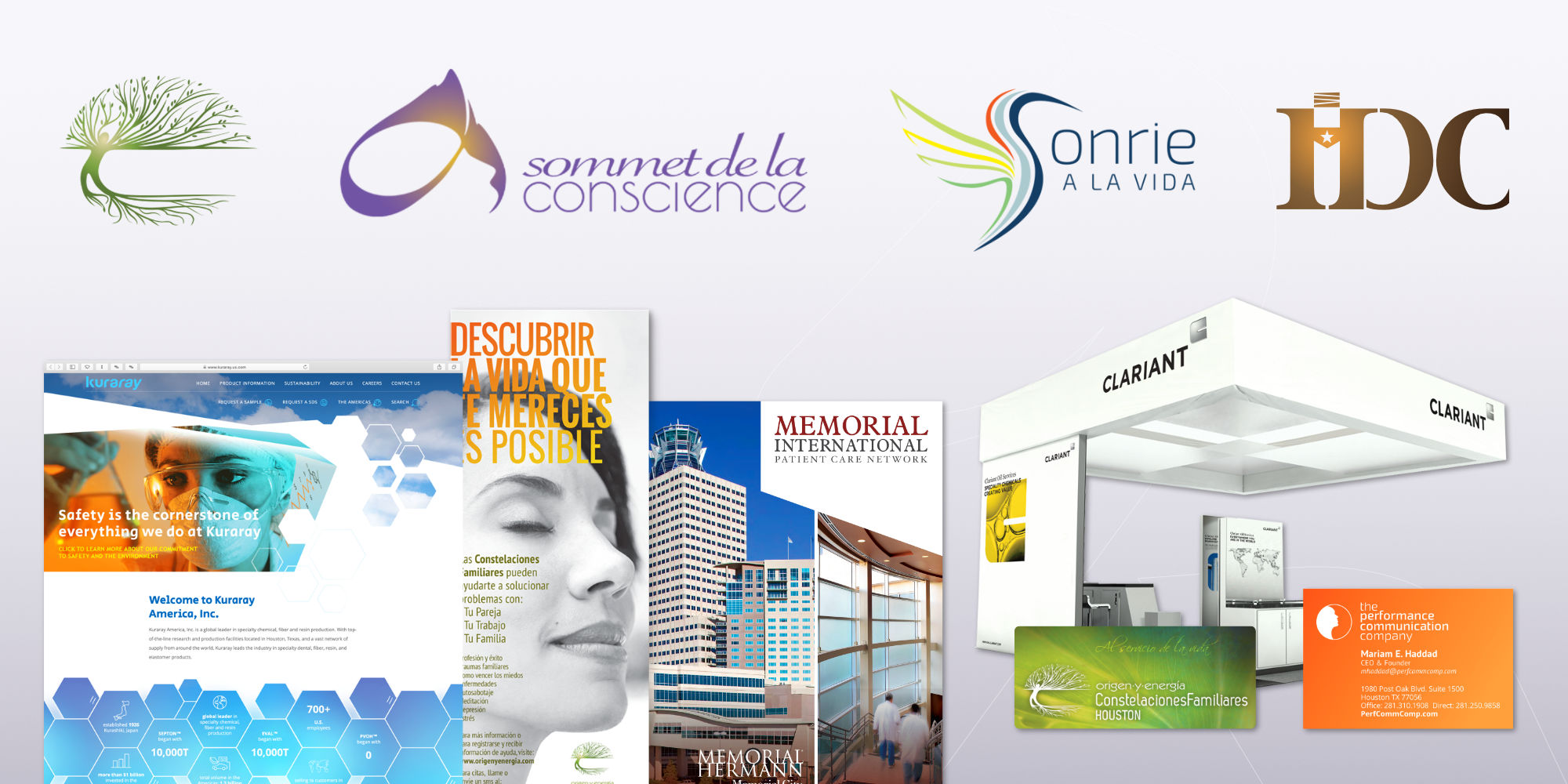 Graphic and web design by creative studio Hakubashi
